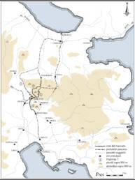 Argolide sistema stradale Età del Bronzo