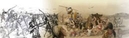 Scontro tra achei e troiani