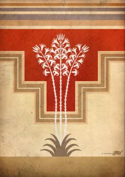 Copertina in stile Minoico