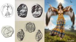La Donna Aquila (Eagle Lady)