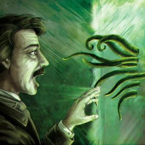 Edgar Allan Poe e Cthulhu - Attraverso il portale
