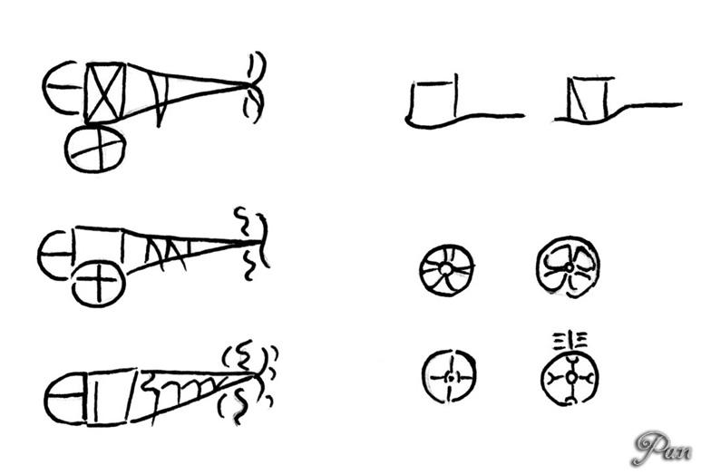 Ideogramma Carro Ruote (Lineare B)
