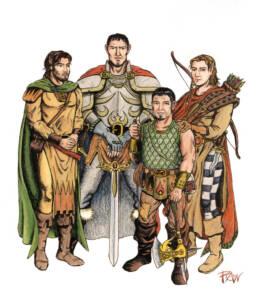 La vecchia compagnia fantasy