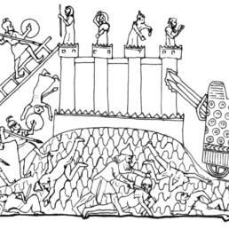 Macchina assedio assira