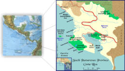 Mappa Sfere Costa Rica