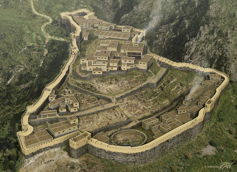 Micene ricostruzione (1250 a.C.)