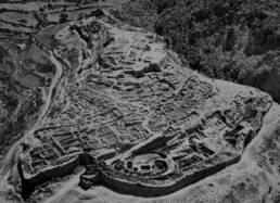 Micene ricostruzione (foto aerea)