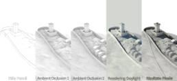 Montecastrese effetti e tecniche 3D