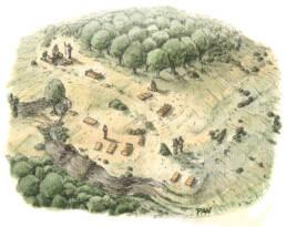 Necropoli Brettia di Treselle