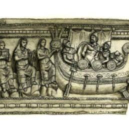 Odisseo e le Sirene (urna etrusca)