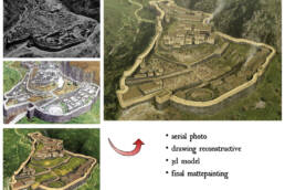 Città di Micene, vari medium