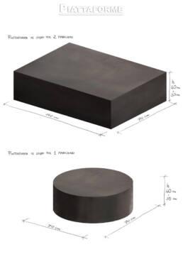 Piattaforme nere