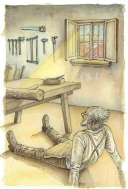 Pinocchio Mastro Ciliegia