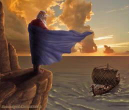 Re e il ritorno della nave (ritaglio)