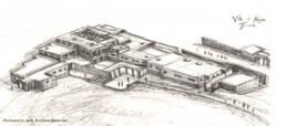 Ricostruzione Haghia Triada Villa (Schizzo)