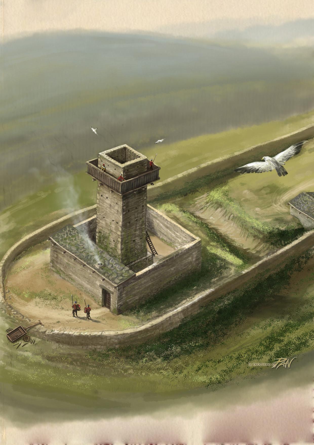 Ricostruzione Torre Monte