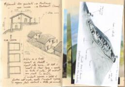 Ricostruzione cassero medievale di Montecastrese (taccuino appunti 04)