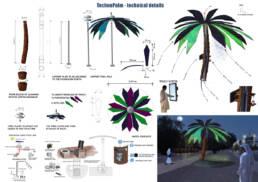 Techno Palm dettagli tecnici
