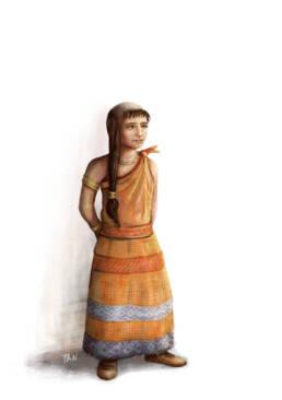 Zuzu bambina minoica
